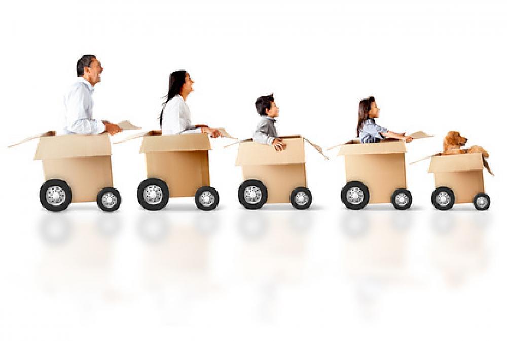 7 Eingewöhnungs-Tipps für den Umzug mit Kindern