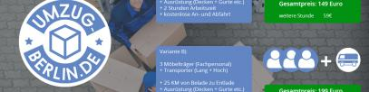 Umzugskalkulator für Umzugsfirma Berlin