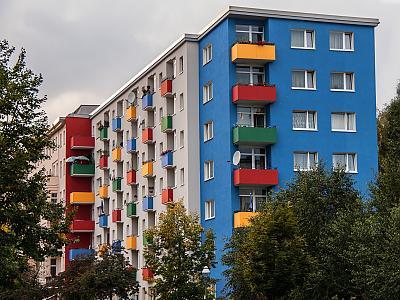 Umzug Berlin Hansaviertel